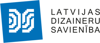 Latvijas Dizaineru savienība logo