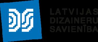 Latvijas Dizaineru savienība logo