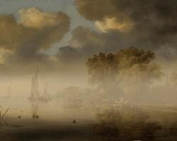 S-van-Ruysdael_Upes-ainava-m